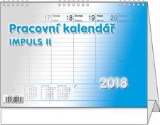 Stolní kalendář 2018 - Pracovní kalendář Impuls II.