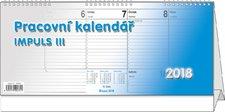 Stolní kalendář 2018 - Pracovní kalendář Impuls III.