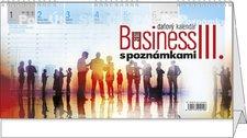 Stolní kalendář 2018 - Business III. s poznámkami