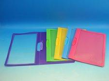 Rychlovazač s klipem plastovým A4 mix barev