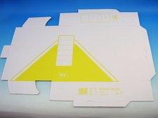 Archivní krabice žlutá 10 x 33 x 24,5 cm