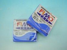 FIMO soft 56 g modrá brilantní modelovací hmota