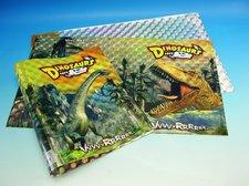 Obal A4 holograf Dinosauři