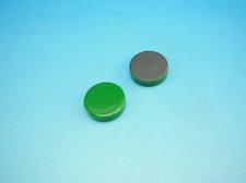 Magnet zelen� pr�m�r 2 cm
