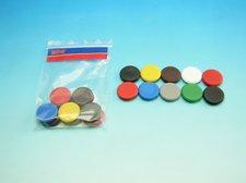 Magnety kulaté barevné