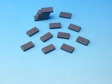 Magnet �ed� 15x28mm obdeln�k