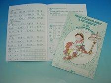 Sešit procvičovací č.3 matematika pro první třídu