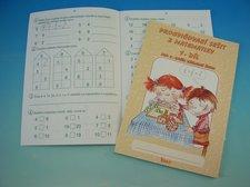 Sešit procvičovací č.1 matematika pro druhou třídu