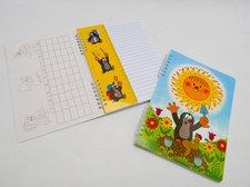 Zápisník školní A5- Krtek