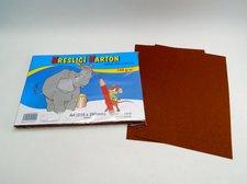Karton kreslící A4/50 ks HNĚDÝ 180 g