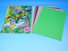 Složka barevných papírů 8 listů