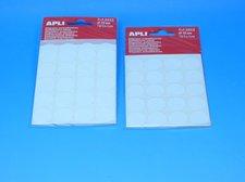 Etikety APLI pr.19mm bílé