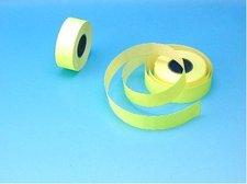 Cenové etikety 22x12 žluté COLA-PLY
