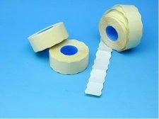 Cenové etikety 25x16 bílé CONTACT