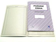 Požární kniha A4, 60str. /ET510/