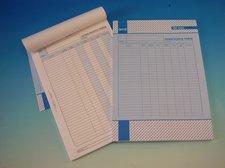 Denní rozpis tržeb, A4, 100 listů
