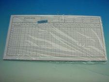 Výplatní listina 42 x 21 cm