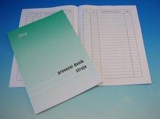 Provozní deník stroje A4
