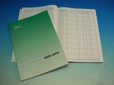 Kniha pošty brožovaná A4