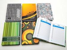 Denní  záznamy A6 - lamino desky