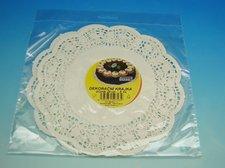 Krajka Dessert 24 cm/6 ks bílá cukrářská