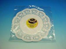 Krajka Dessert 30 cm/6 ks bílá cukrářská