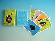Karty  Krtek a motýl Černý Petr