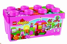 LEGO DUPLO 10571 Růžový box plný zábavy
