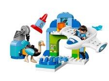 LEGO DUPLO Miles 10826 Milesův hangár pro jeho vesmírnou loď Stellu
