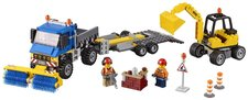LEGO City 60152 Great Vehicles Zametací vůz a bagr