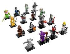 LEGO 71010 Minifigurky, 14. série: Příšery
