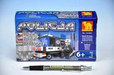 Stavebnice Dromader Policie Auto 23201 58ks
