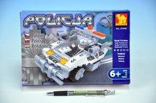 Stavebnice Dromader Policie Auto 114ks