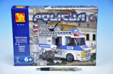 Stavebnice Dromader Policie Auto 178ks