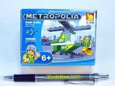 Stavebnice Dromader Vrtulník 33ks
