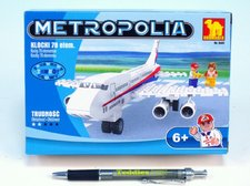 Stavebnice Dromader Letadlo 78ks