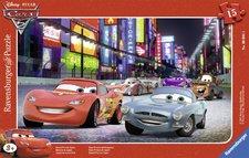 Puzzle Ravensburger Závod v Japonsku  Cars  15 Dílků
