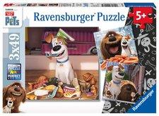 Ravensburger Tajný život mazlíčků 3x49 dílků