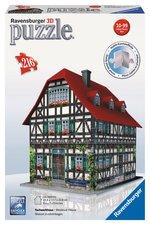 Puzzle Středověký dům 3D 216 dílků