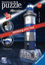 Puzzle Maják v příboji 3D - Noční edice 216 dílků