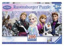 Puzzle Ravensburger  Ledové království Panorama 200 Dílků