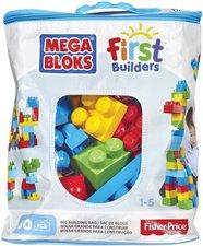 Mega Bloks Kostky v plastovém pytli 60dílů