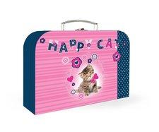 """Kufřík papírový """"35"""" (lamino) - Kočka"""