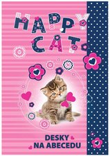 Desky na abecedu Kočka