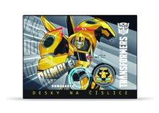 Školní desky na číslice - Transformers