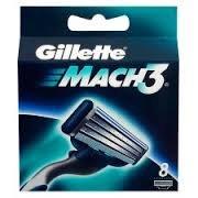 GILLETTE náhradní hlavice 8ks Mach 3