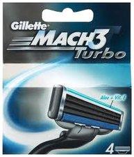 GILLETTE náhradní hlavice 4ks Mach 3 Turbo