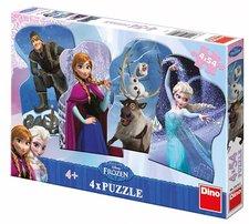 Walt Disney Frozen a přátelé 4x54D