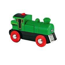 Brio - Elektronická lokomotiva zelená