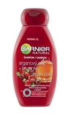 GARNIER Natural šampon 250 ml arganový olej a brusinka na barvené melír vlasy